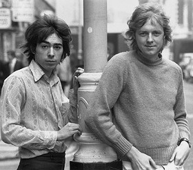 Lloyd Webber with early collaborator Tim Rice