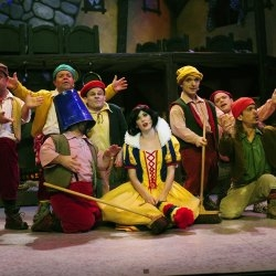 Snow White at the Octagon Theatre, Yeovil.