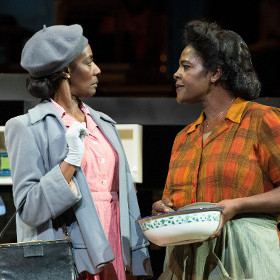 Jacqueline Boatswain and Sharon D Clarke in The Amen Corner