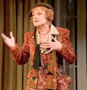 Angela Lansbury in Blithe Spirit on Broadway