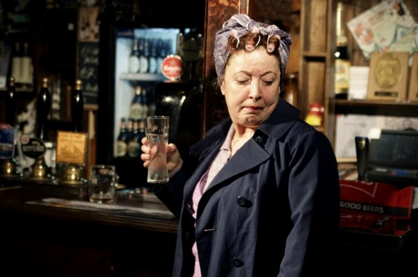 Joan Kempson in Coronation Street Live