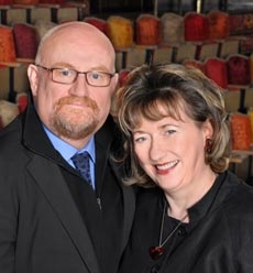 Sir Howard Panter and Rosemary Squire OBE