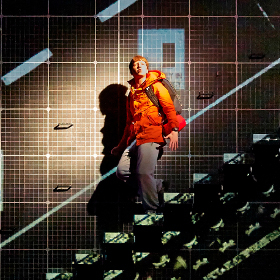 Mike Noble in The Curious Incident of the Dog in the Night-Time at the Apollo