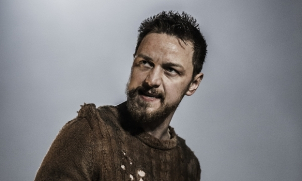 James McAvoy in the title role in Macbeth