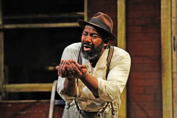 Lenny Henry as Troy in Fences
