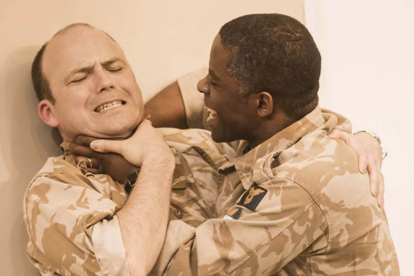 Rory Kinnear as Iago in Othello.