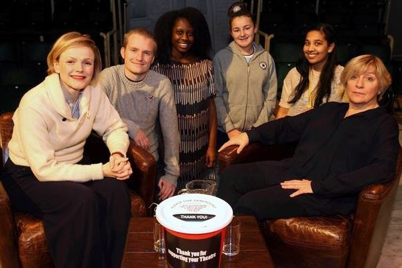 Young actors spend day with Maxine Peake and Victoria Wood