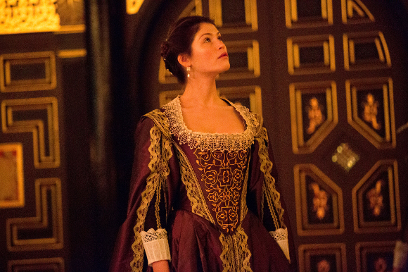 Gemma Arterton as the Duchess