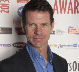Lloyd Owen at the launch of the 2014 WhatsOnStage Awards