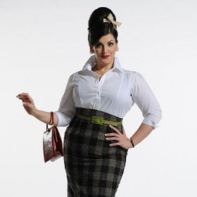 Jodie Prenger in One Man, Two Guvnors