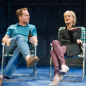 Adam James and Emilia Fox in Rapture, Blister, Burn