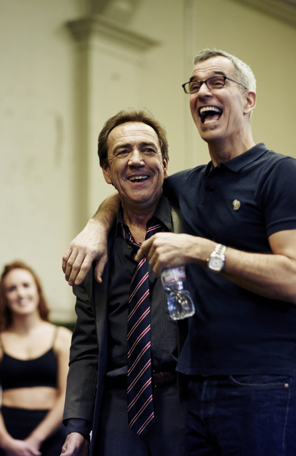 Robert Lindsay and Jerry Mitchell