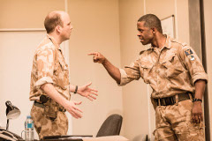 Rory Kinnear opposite Adrian Lester in Othello