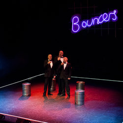 John Godber's Bouncers continues at the Theatre Royal Wakefield until 1 February.