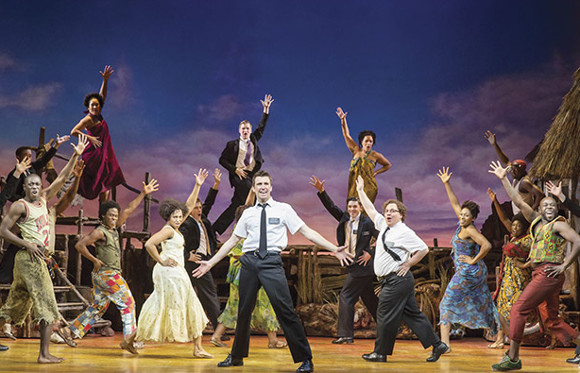 Broadway import The Book of Mormon helped boost average ticket sales