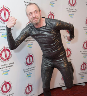 Suits you: Arthur Smith at the Critics' Circle Awards
