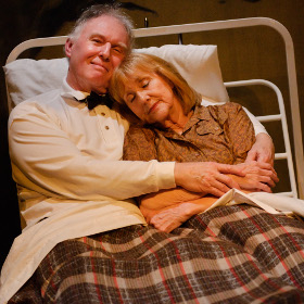 Tim Pigott-Smith and Pamela Miles