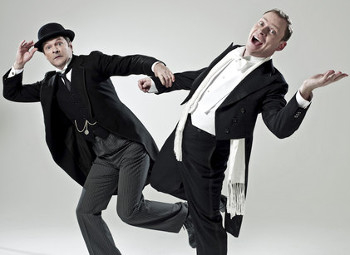 Mark Heap as Jeeves and Robert Webb as Bertie Wooster
