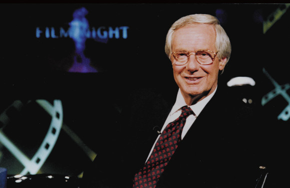 Barry Norman during his BBC presenting days