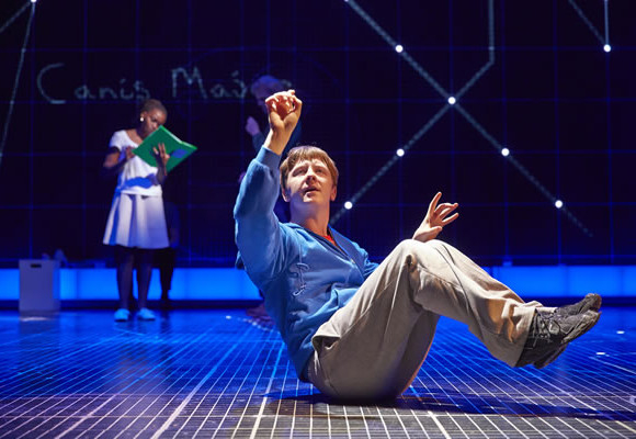 Mike Noble in The Curious Incident of the Dog in the Night-time