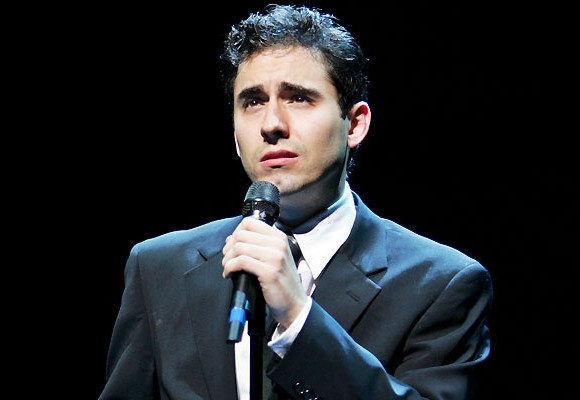 John Lloyd Young in Jersey Boys on Broadway