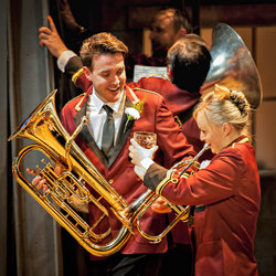 Brassed Off continues at the York Theatre Royal until 1 Mar 2014.