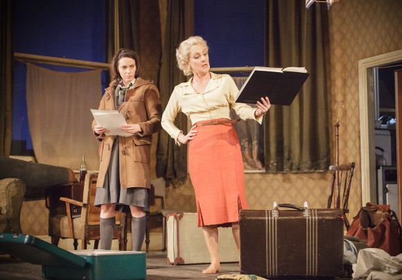 Kate O'Flynn (Jo) and Lesley Sharp (Helen) in A Taste of Honey