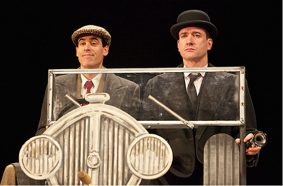 Stephen Mangan and Matthew Macfayden in the West End production