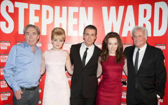 Andrew Lloyd Webber, Charlotte Blackledge, Alexander Hanson, Charlotte Spencer and Richard Eyre