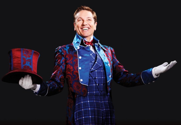 The greatest showman on earth: Brian Conley as Phineas T Barnum