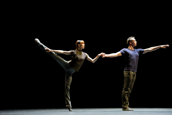 Sylvie Guillem and Nicolas Le Riche