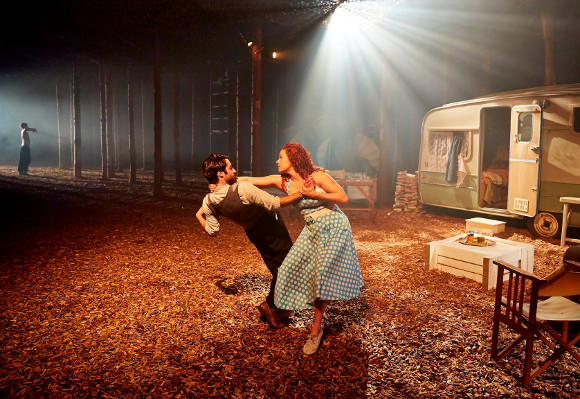 Punchdrunk love: A scene from The Drowned Man