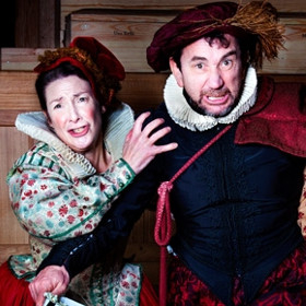 Pauline McLynn and Phil Daniels