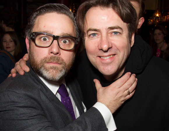Fright night: Andy Nyman and Jonathan Ross