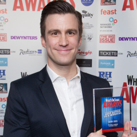 Book of Mormon star Gavin Creel won a WhatsOnStage Award for his performance