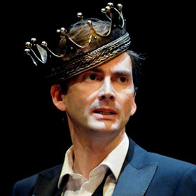 David Tennant in the RSC's Hamlet in 2009