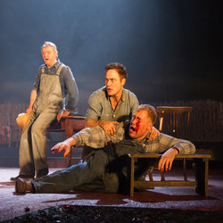 Of Mice and Men continues at the West Yorkshire Playhouse until  29 March.