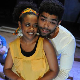 Ayesha Antoine and Kingsley Ben-Adir