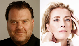 Bryn Terfel and Emma Thompson