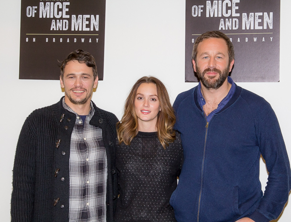 James Franco, Leighton Meester and Chris O'Dowd make their Broadway debuts in ''Of Mice and Men