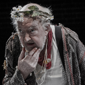 David Ryall as King Lear