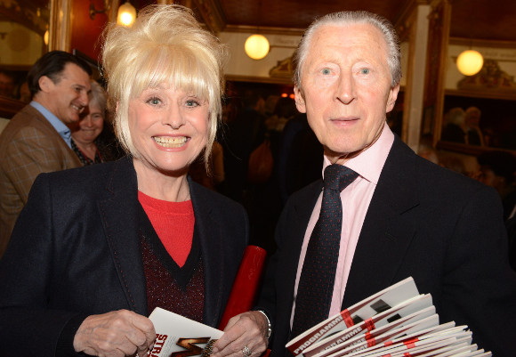 Barbara Windsor with original Oh What A Lovely War cast member Murray Melvin