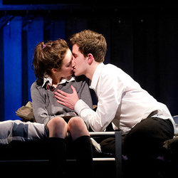 A scene from Spring Awakening by Headlong at West Yorkshire Playhouse.