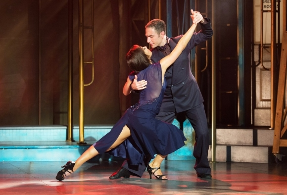Vincent Simone & Flavia Cacace in Dance 'Till Dawn.