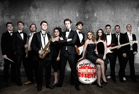The cast of The Commitments