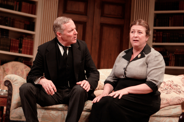 Rory Bremner and Caroline Quentin in Relative Values