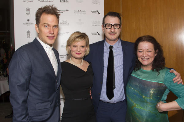 Daniel Lapaine (Trip Wyeth), Martha Plimpton (Brooke Wyeth), Jon Robin Baitz (Author) and Clare Higgins (Silda Grauman)