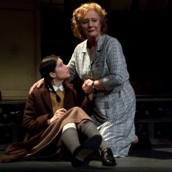 Gabrielle Dempsey and Maggie Steed in Kindertransport.