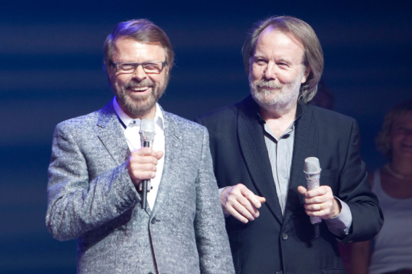 Benny and Björn in 2009