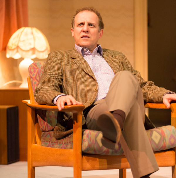 Nice to be back: Nigel Lindsay as Jack McCracken in A Small Family Business